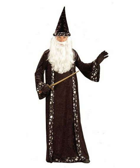 Wizard Costume - Adult Costume - Witch Halloween Costume at Wonder Costumes