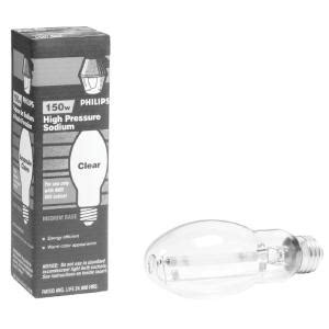 1000 Watt Hps Bulb Home Depot by Philips 150 Watt Ed23 5 Ceramalux High Pressure Sodium