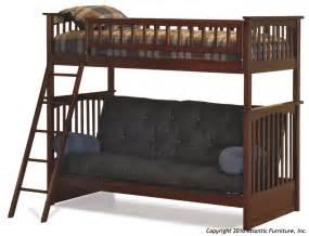 atlantic furniture columbia futon bunk bed