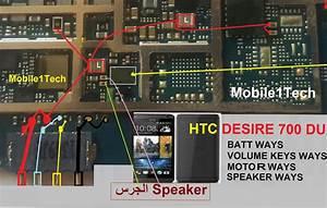 Htc Desire 700 Battery Connector Terminal Jumper Ways