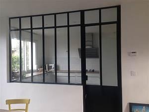 verriere interieur style atelier artiste avec imposte et With porte de garage avec porte intérieure style atelier