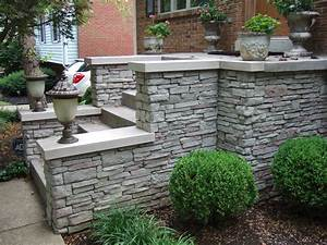 Decorative stone wall and floor covering interior or