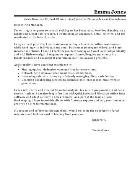 Amazing Accounting & Finance Cover Letter Examples