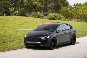 Tesla Modele X : check out this matte black tesla model x with hre s209 wheels ~ Melissatoandfro.com Idées de Décoration