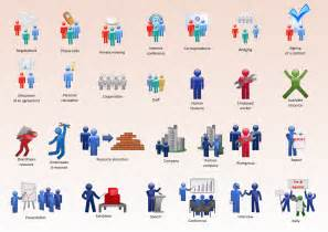 Business Visio People Shapes
