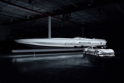 Cigarette Boat Builder by Mercedes Amg And Cigarette Team Up For 1 5 Million Vision