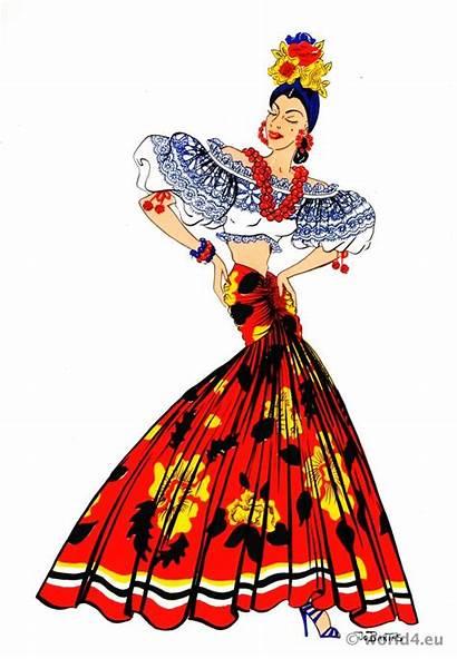 Brazil Dance Costume Folk Latin Brazilian American