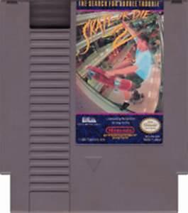 Skate or Die 2 NES Nintendo Game