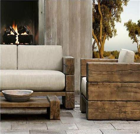 rustic modern outdoor furniture social jadon outdoors Rustic Modern Outdoor Furniture
