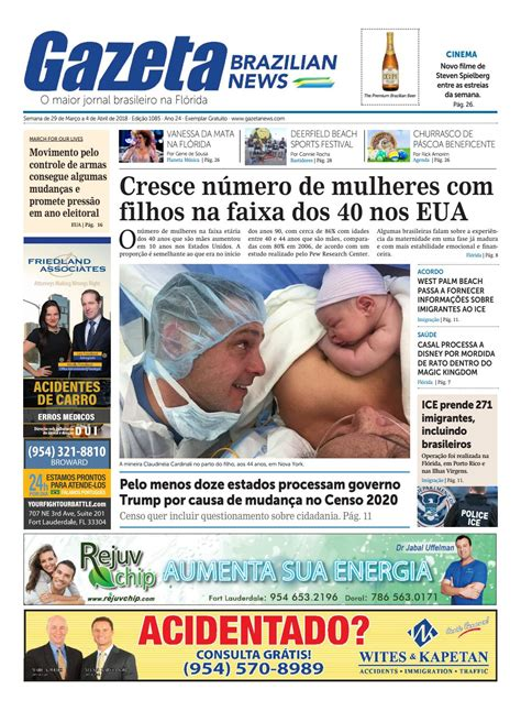 Gazeta Brazilian News Edição 1085 - De 29 de Março a 4 de ...