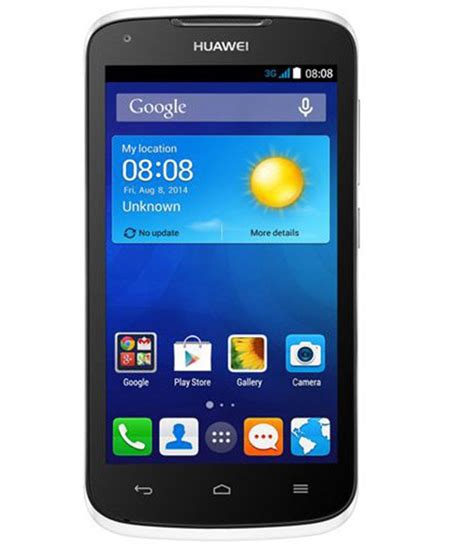 Huawei Ascend Y540 3g 4 Gb Brand New Unlocked White