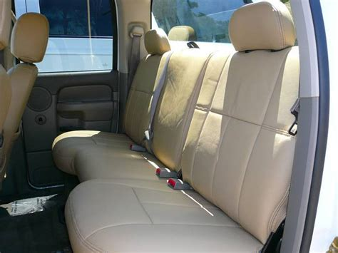 Clazzio Leather Seat Covers Dodge Ram 2500  3500 2006