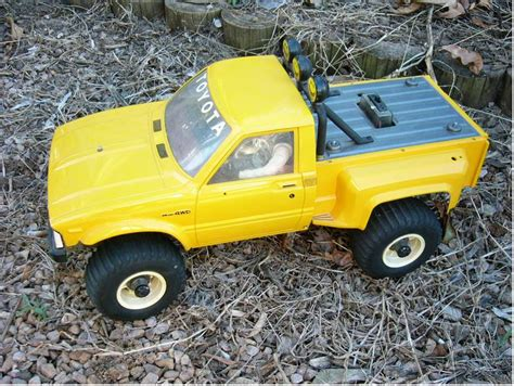 58028 toyota 4x4 up from rroodd showroom a golden find tamiya rc radio cars