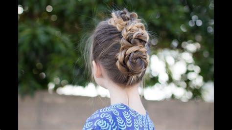 triple bun updo homecoming hairstyles easy diy