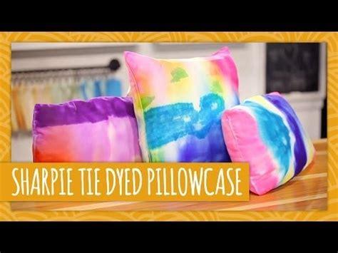 diy tie dyed pillowcase hgtv handmade youtube