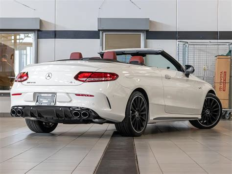 Then browse inventory or schedule a test drive. New 2020 Mercedes-Benz C43 AMG 4MATIC® Cabriolet All Wheel Drive 4MATIC Convertible