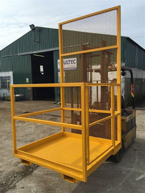 ft manlift agri basket mesh guard model multec