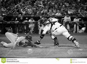 Home Plate Action Editorial Image - Image: 86162115