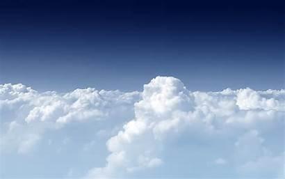 Clouds Cloud Backgrounds Wallpapers Above Walls Desktop