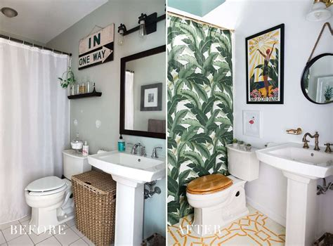 one room challenge modern boho bathroom reveal 187 brigham