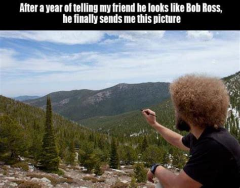 The Glory Of The Bob Ross Meme