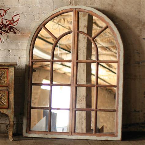 kalalou arched window mirror cmx1065