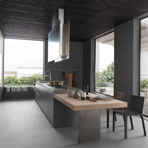 grey kitchen design pictures افكار مطابخ باللون الرمادي المرسال 4074