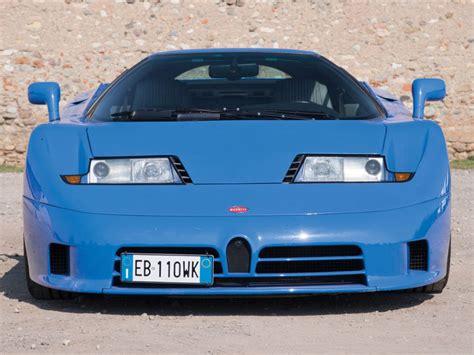 Blue Bugatti Eb110 For Sale At .8 Million