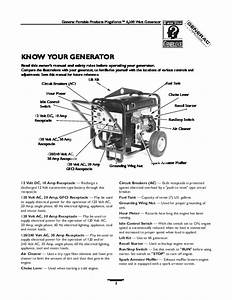 Generac Megeforce 6500 Generator Owners Manual