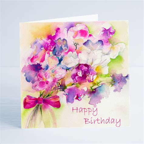 Birthday Card Image by Sweet Pea Happy Birthday Greetings Card By Gill