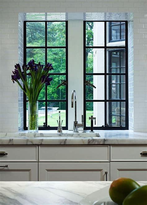 kitchen remodel windows flush  counter