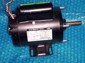 Garage Door Opener Motor A O  Smith 3  4hp  948