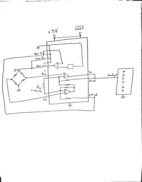 Load Cell Wiring Diagram by Instrumentation Lifier Problem Of Noise With Load
