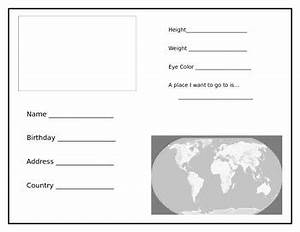make your own passport by teaching touchdowns teachers With make your own passport template