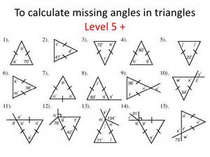 Find Missing Angles Worksheet Pictures On Missing Angles Worksheets Easy Diy Decorations
