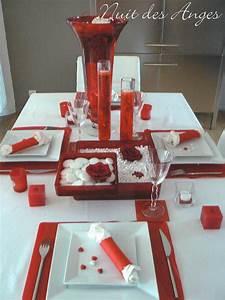 decoration cuisine blanc rouge With marvelous peinture couleur lin et gris 9 la cuisine noire le blog des cuisines