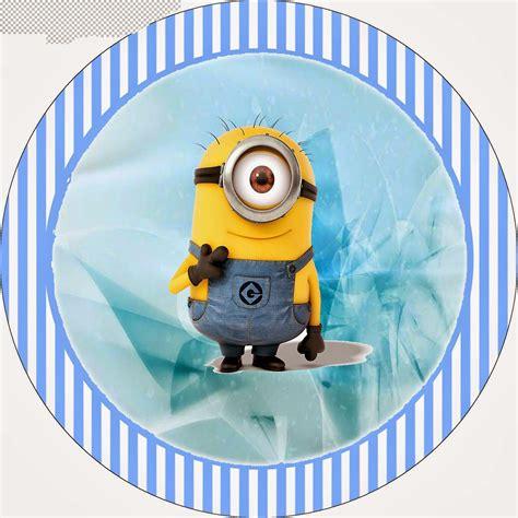 minions en fondo azul mini kit para imprimir gratis ideas y material gratis para fiestas y