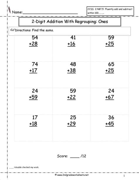 math single digit addition and subtraction worksheet cursive alphabet worksheets grade maths printable math for