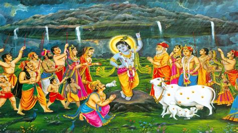 happy govardhan puja greeting card ecard images