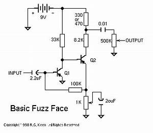 the technology of the fuzz face With fuzz pedal circuit