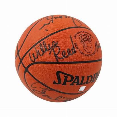Knicks 1970 York Champion Basketball Signed Team