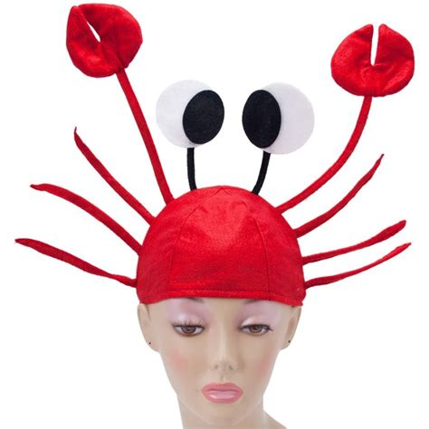 crab hat seafood hat funny hat silly hat novelty hats