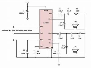 La4440 Audio Amplifier Circuit
