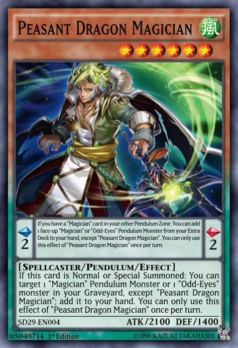 peasant dragon magician yugioh by yeidenex on deviantart