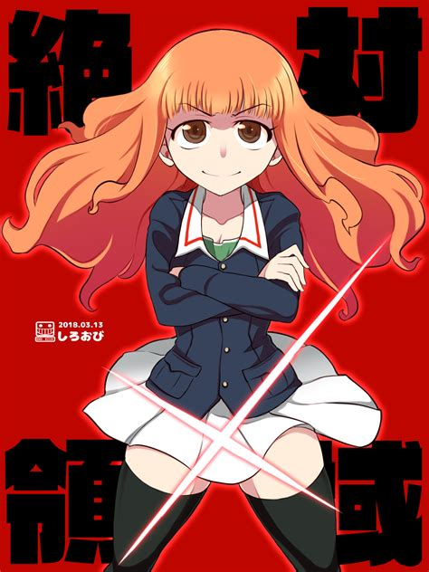 Takebe Saori Girls Und Panzer And 1 More Drawn By