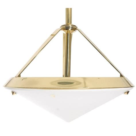 shaped light fixture pyramid shaped pendant light fixture at 1stdibs