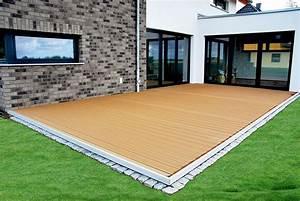 Terrassenbau holzterrassen von galant gmbh in stralsund for Kunststoff holz für terrassen