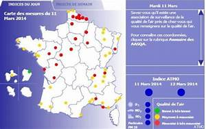 Carte France Pollution : pollution alerte maximum aux particules en ile de france ~ Medecine-chirurgie-esthetiques.com Avis de Voitures