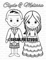 Coloring Kilt Wedding Activity Printable Pdf Personalized  sketch template
