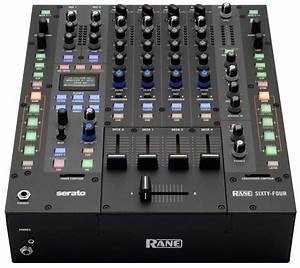 RANE Sixty-Four | 4-Channel DJ Mixer for Serato DJ | agiprodj.com  Dj